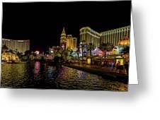 Bellagio On The Las Vegas Strip Greeting Card