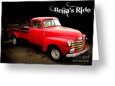 Bella's Ride Greeting Card