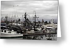 Bellingham Bay Ship Yard Greeting Card