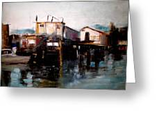 Bellingham Boats Greeting Card