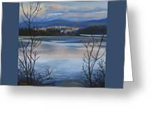 Bellingham In Winter Greeting Card