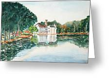 Bellingrath Pond Greeting Card