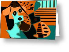 Bellissimo Puppy Greeting Card