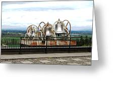 Bells At The Abbey Greeting Card