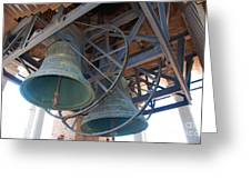 Bells Of Torre Dei Lamberti - Verona Italy Greeting Card