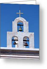 Bells - San Xavier Del Bac - Arizona Greeting Card
