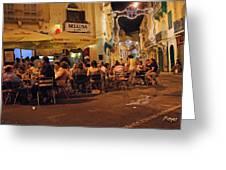 Bellusa Cafe No. 2 Greeting Card