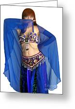 Belly Dance Modeling. Sofia Of Ameynra Greeting Card