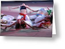 Belly Dancers  Greeting Card