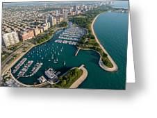 Belmont Harbor Chicago Greeting Card