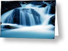 Below Tak Falls Greeting Card