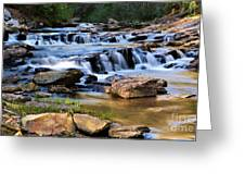 Below Toccoa Falls Greeting Card