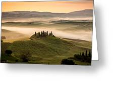 Belvedere Toscany Greeting Card