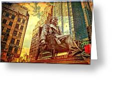 Ben In New York City Greeting Card