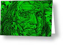Ben In Wood Green Greeting Card