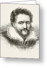 Ben Jonson 1572 To 1637. English Greeting Card