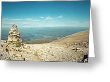 Ben Nevis Cairn Greeting Card