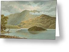 Ben Venue And Ellen's Isle   Loch Katrine Greeting Card