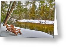 Bench Of Solitude Greeting Card