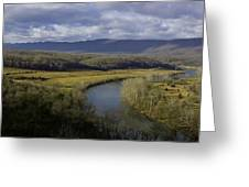 Bend In The River Greeting Card
