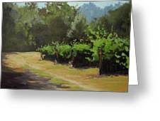Bend In The Road Greeting Card