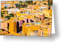 Beni Isguen Houses From The Watch Tower Greeting Card