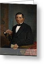 Benito Juarez (1806-1872) Greeting Card by Granger