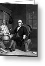 Benjamin Franklin -- The Scientist Greeting Card