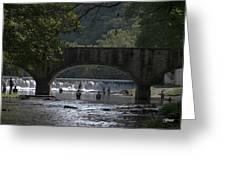 Bennett Springs Bridge Greeting Card