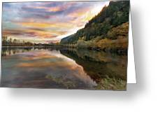 Benson State Recreation Area In Fall Greeting Card