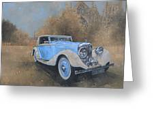 Bentley By Kellner Greeting Card