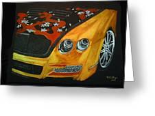 Bentley W66gts Greeting Card