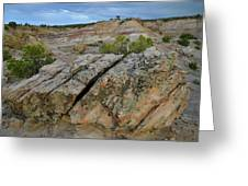 Bentonite Quarry On Little Park Road Greeting Card