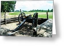 Bentonville Nc Confederate Artillery Greeting Card
