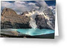 Berg Lake, Mount Robson Provincial Park Greeting Card