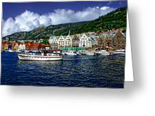 Bergen - Norway Greeting Card