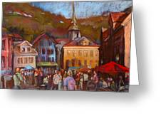 Bergen Square Greeting Card
