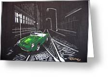 Berkley Sports Car Greeting Card