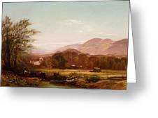 Berkshire Landscape Greeting Card