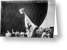Berlin: Balloon Race, 1908 Greeting Card