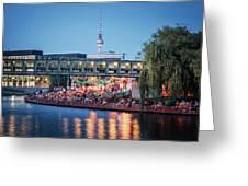 Berlin - Capital Beach Bar Greeting Card