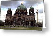 Berlin Dom Greeting Card