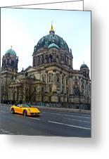 Berlin Dome Greeting Card