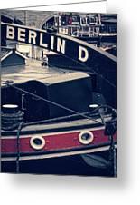 Berlin - Historischer Hafen Greeting Card