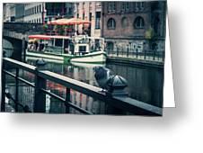 Berlin - Maerkisches Ufer Greeting Card