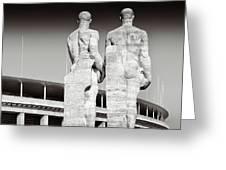 Berlin Olympiastadion - Berlin Olympic Stadium Greeting Card