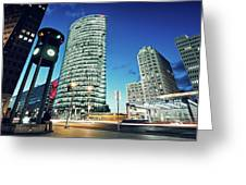 Berlin - Potsdamer Platz Greeting Card