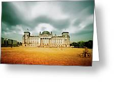 Berlin Reichstag Building Greeting Card