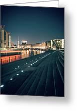 Berlin - Reichstagufer Greeting Card
