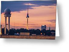 Berlin - Tempelhofer Feld Greeting Card